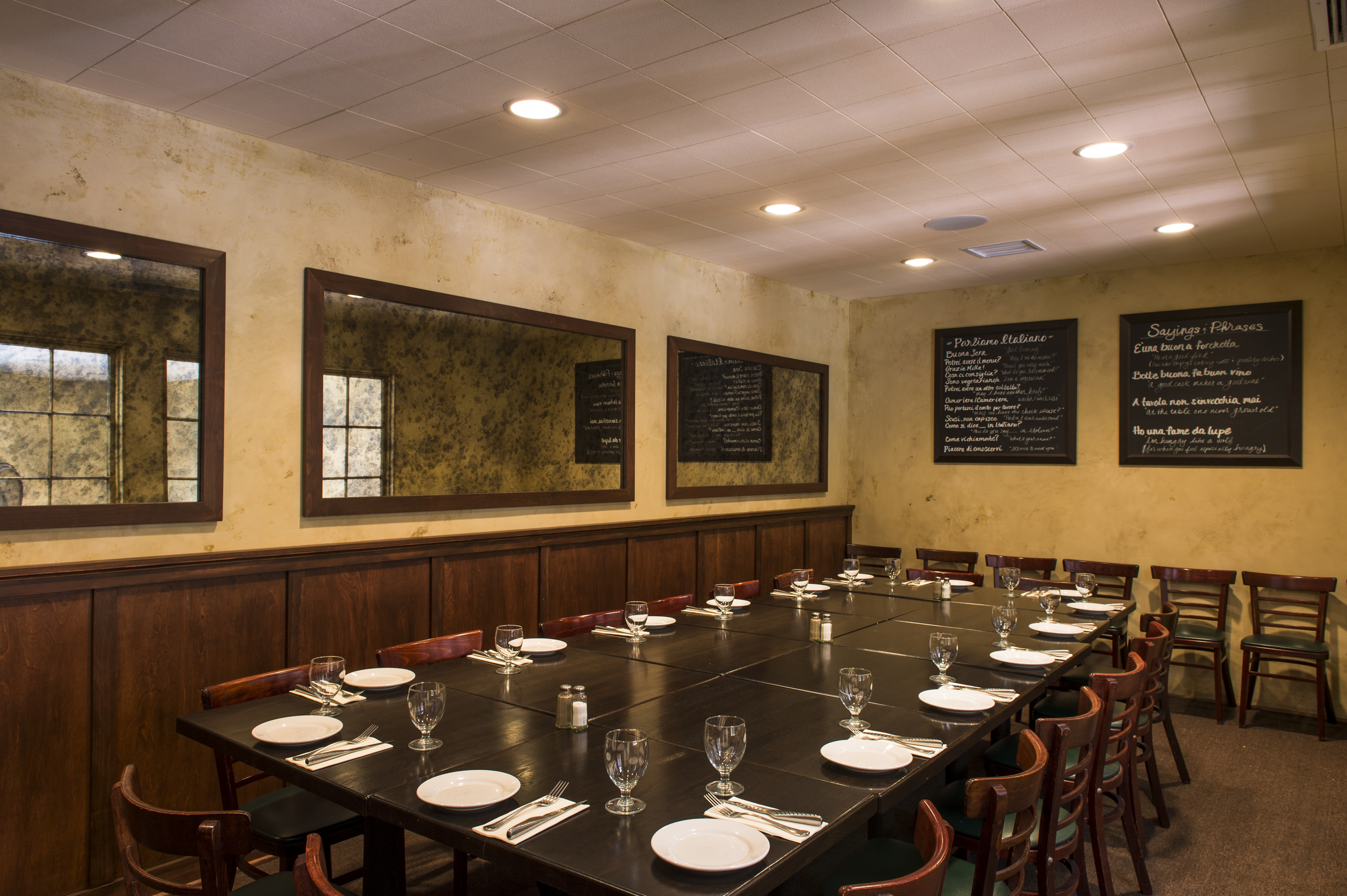 Terrazza Room Olio Pizzeria